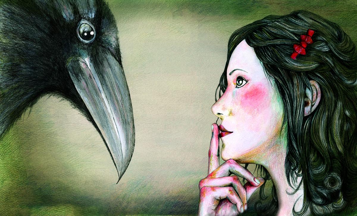 """Il·lustració conte """"I et despertes"""" de Joana Santamans."""